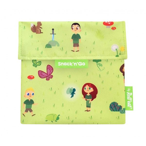 Vrecko na desiatu Snack'n'Go - Kids Forest