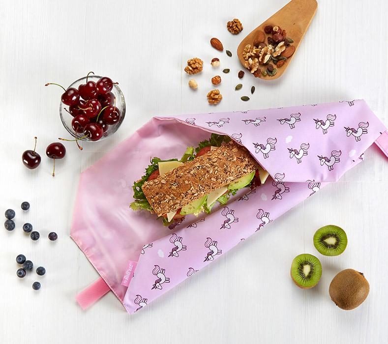 Obal na desiatu Boc'n'Roll, Sandwich bag - Kids Unicorn