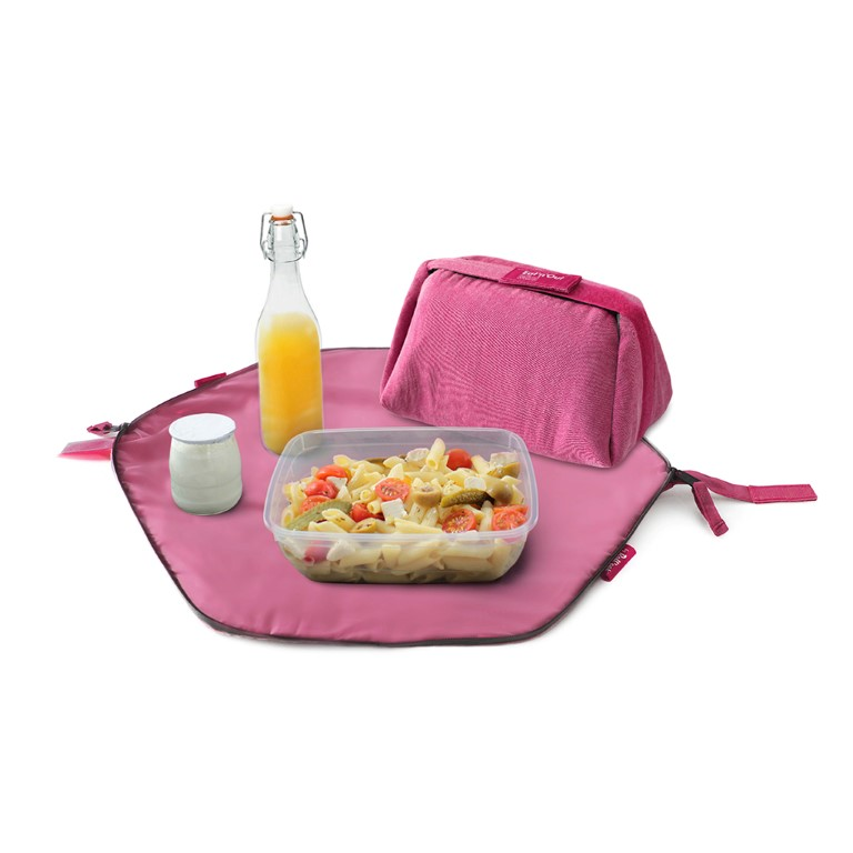 Obedová taška Eat'n'Out - Nature Pink