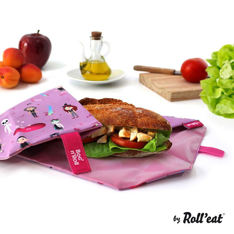Obal na desiatu Boc'n'Roll, Sandwich bag - Kids Fantasy