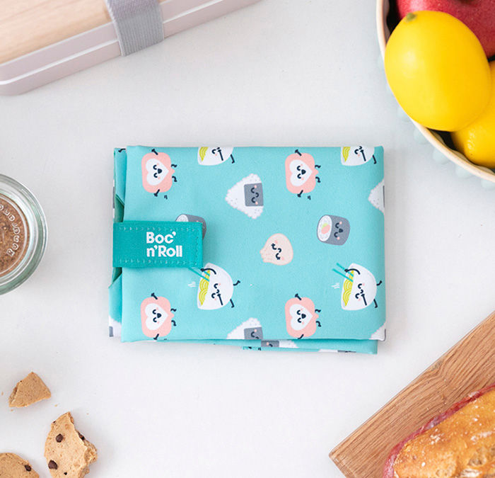 Obal na desiatu Boc'n'Roll, Sandwich bag - Mr.Wonderful Sushi