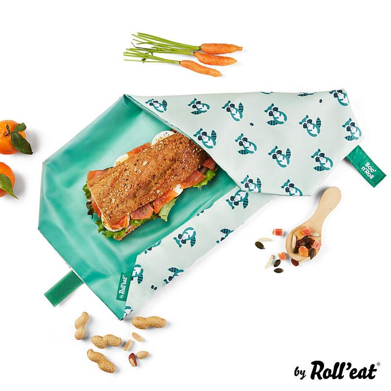 Obal na desiatu Boc'n'Roll, Sandwich bag - Kids Raccoon