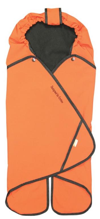 Emitex Zavinovačka SALMA - oranžová tehlová
