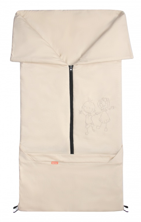 Emitex Fusak 2v1 BARY bavlna/bavlna - béžový / béžový