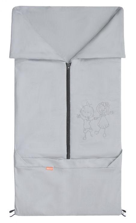 Emitex Fusak 2v1 BARY bavlna/bavlna - šedý / šedý