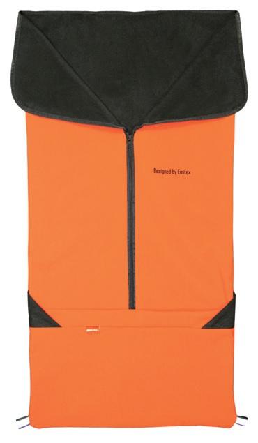 Emitex Fusak 2v1 SAM softshell - tehlová oranžová