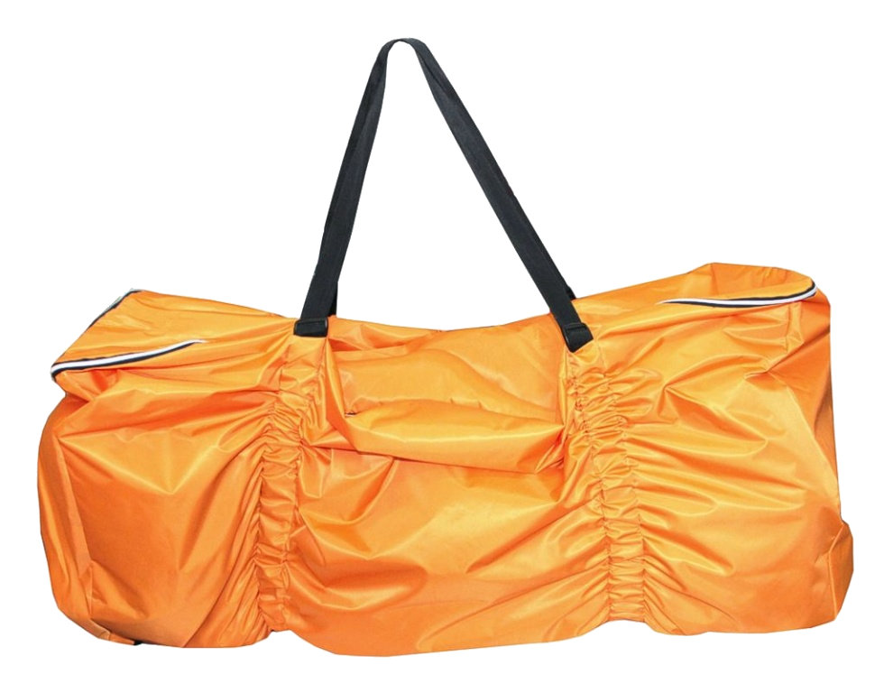 Cestovný obal na kočík - oranžový