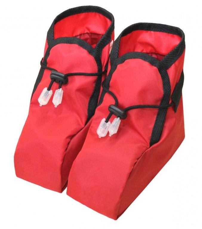 Návlek na topánky pre deti - Červené