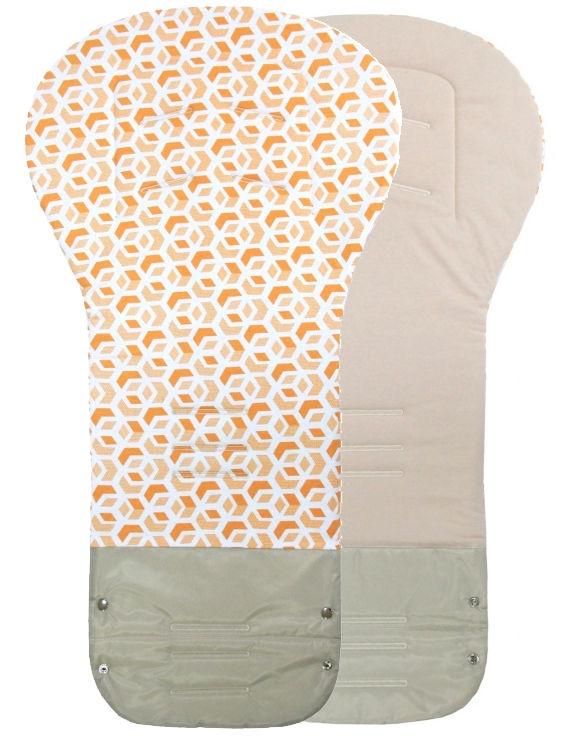 Vložka GRAND bavlna - CUBE okrová / béžová