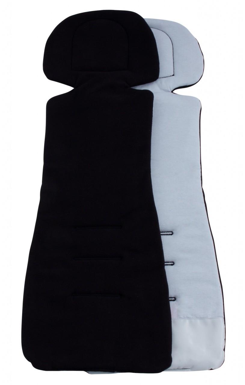 ByBoom Univerzálna vložka COMFORT fleece/bavlna - Čierna / šedá
