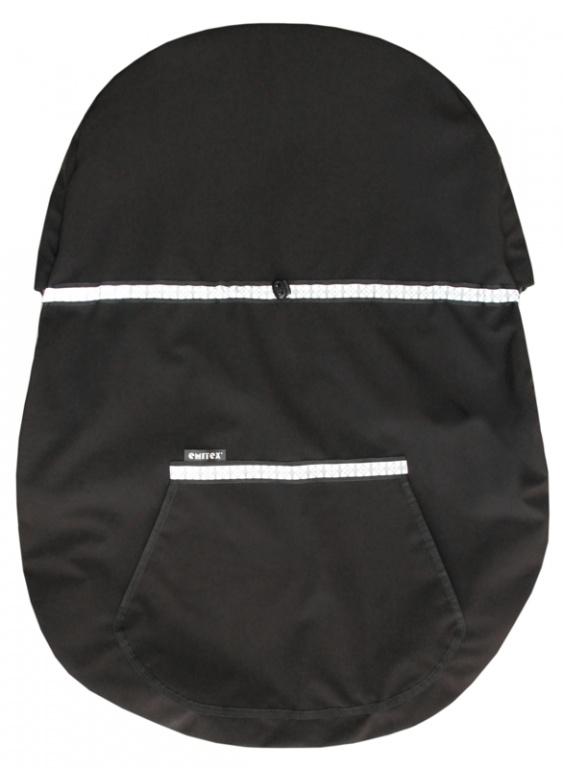 Emitex Ochranný kryt na nosič - čierny
