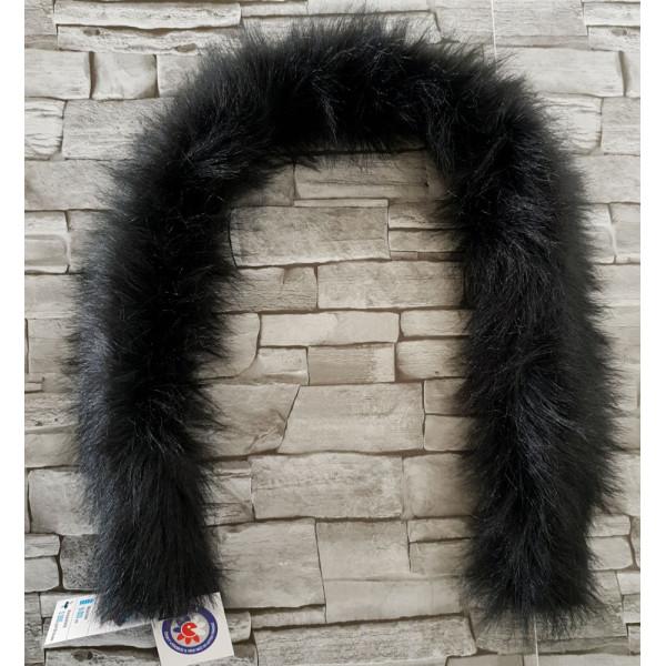 Dekoratívny 75cm golier univerzálny, Čierny