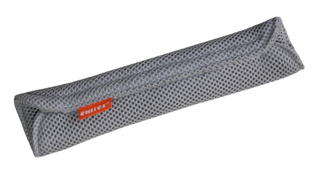 Polstrovanie veľké na autopás 3D - Sv.šedé