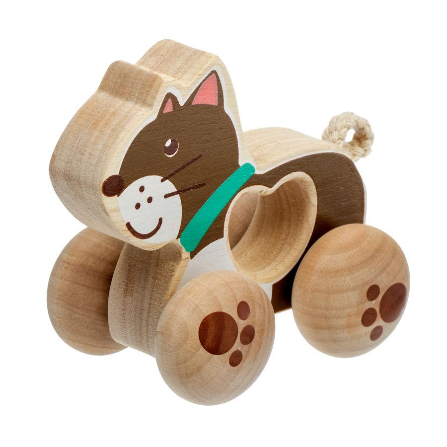 Lucy&Leo Hračka na kolesách, mačička