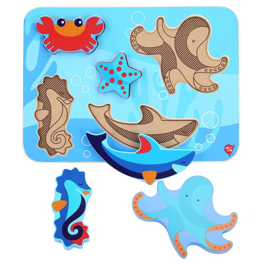 Lucy&Leo Puzzle - Zvieratká z oceánu