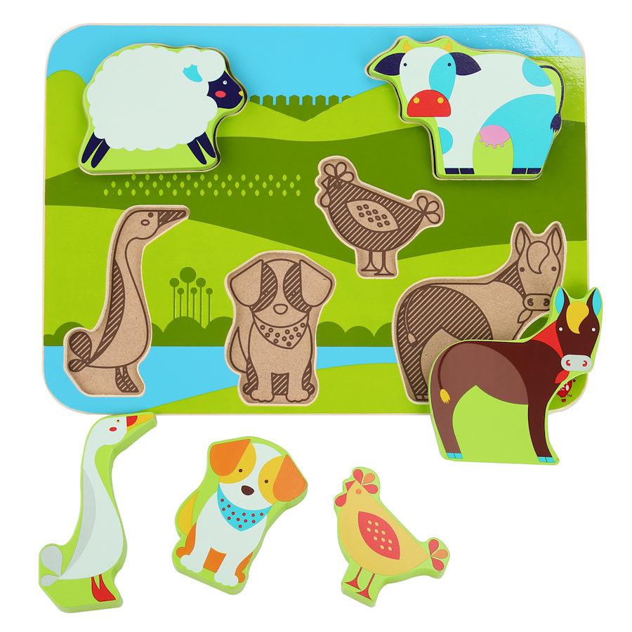 Lucy&Leo Puzzle - Zvieratká z farmy
