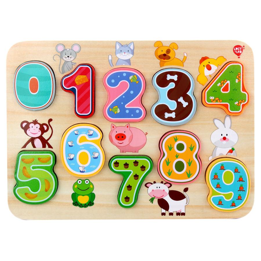 Lucy&Leo Puzzle - Prvé čísla