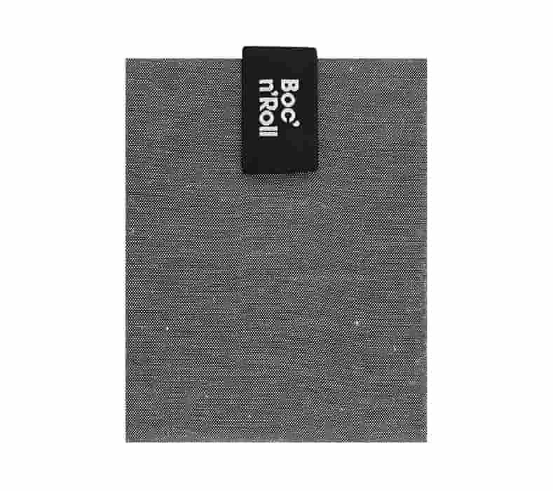 Obal na desiatu Boc'n'Roll, Sandwich bag - Nature Black