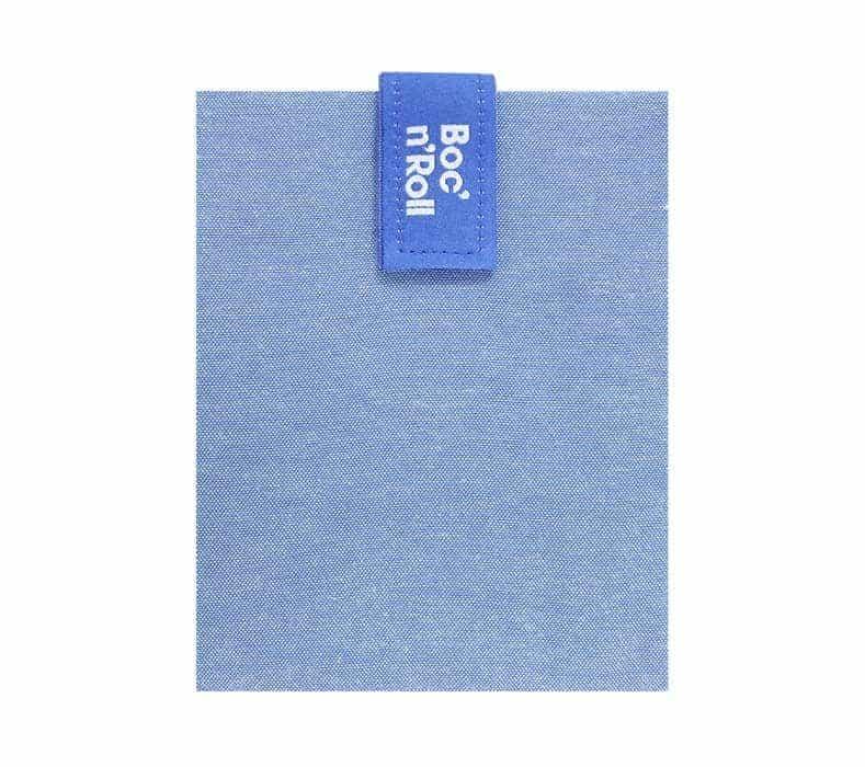 Obal na desiatu Boc'n'Roll, Sandwich bag - Nature Blue