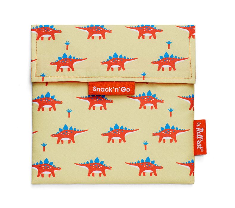 Vrecko na desiatu Snack'n'Go - Kids Dinosaur