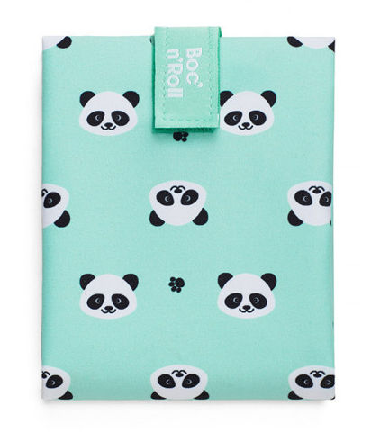 Obal na desiatu Boc'n'Roll, Sandwich bag - Kids Panda