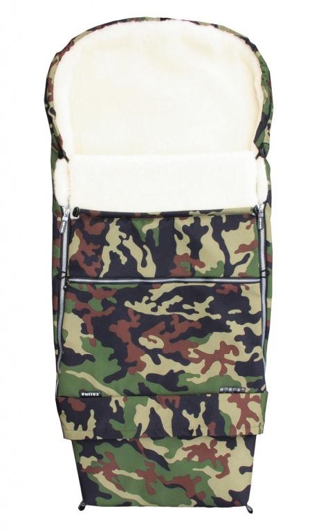 Fusak COMBI ARMY 3v1 kožuch