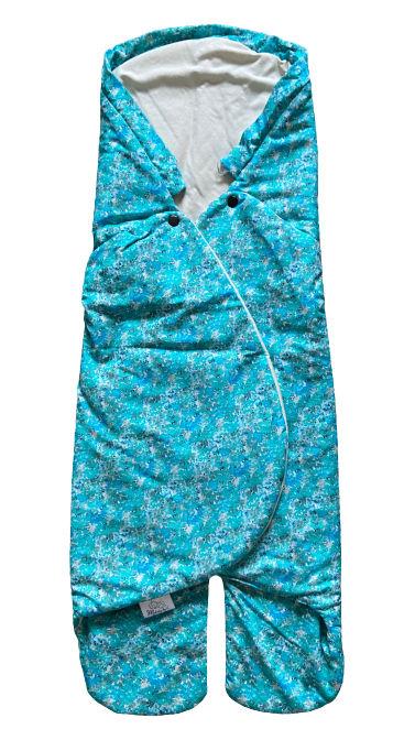 Letná BIO zavinovačka MELODY - Blue flower