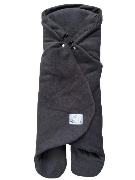 Zimná zavinovačka MELODY fleece - Antracit