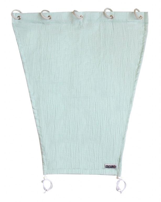 Emitex Slnečná clona MUŠELÍN - pastelová modrá